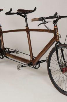Wooden Tandem Bike