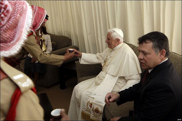 Pope Benedict visiting Jordan (2/6)