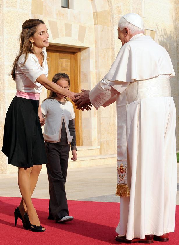 Pope Benedict visiting Jordan (6/6)