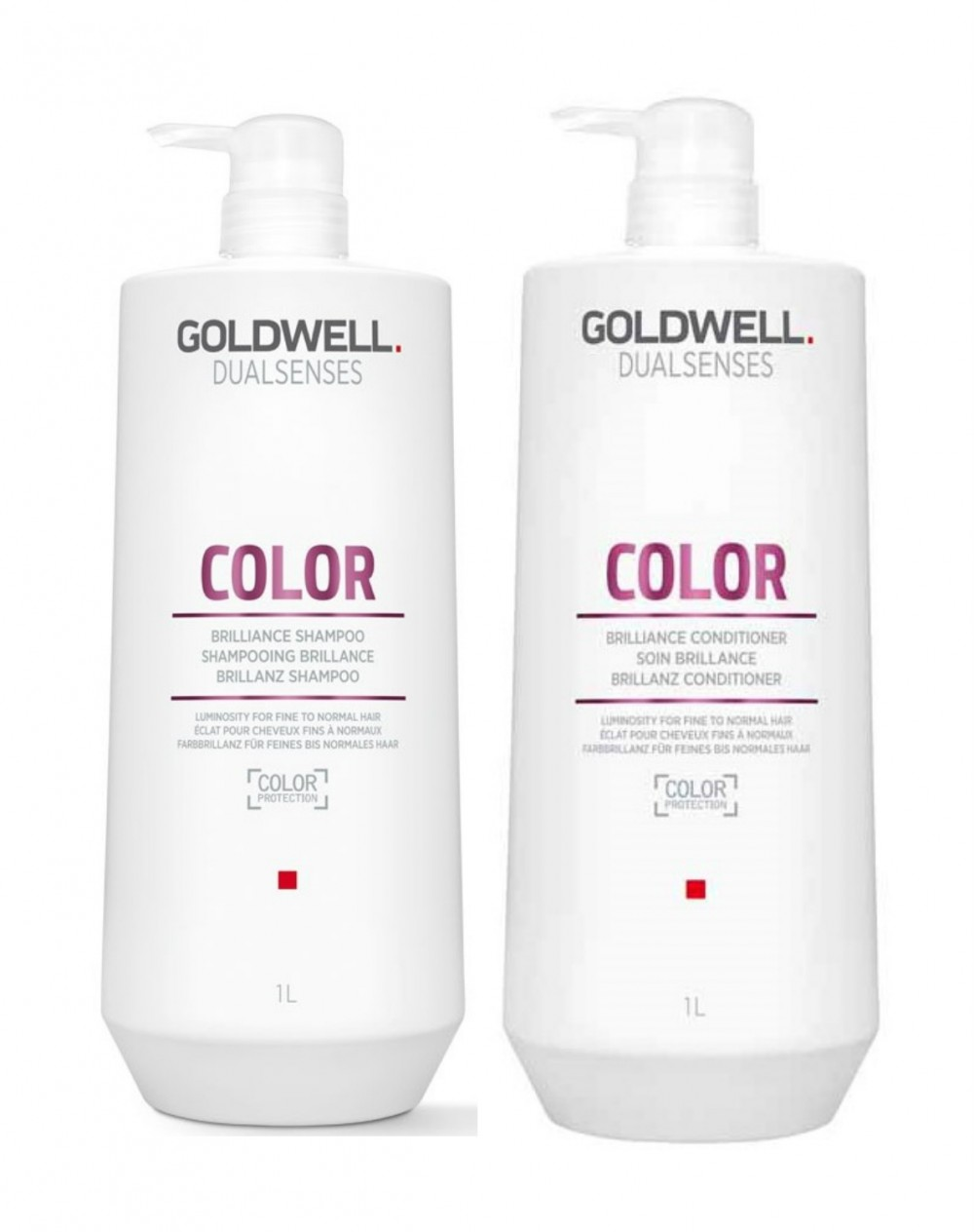 Goldwell Dualsenses Color Brillance Shampoo & Conditioner Duo Liters