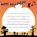 ハロウィンメッセージカード