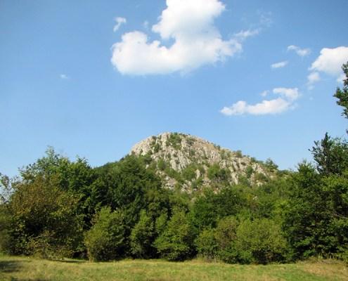 Ozren Sokobanja pogled na stenoviti vrh