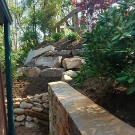 Sokol-Landscaping--Asheville-RetainingWall