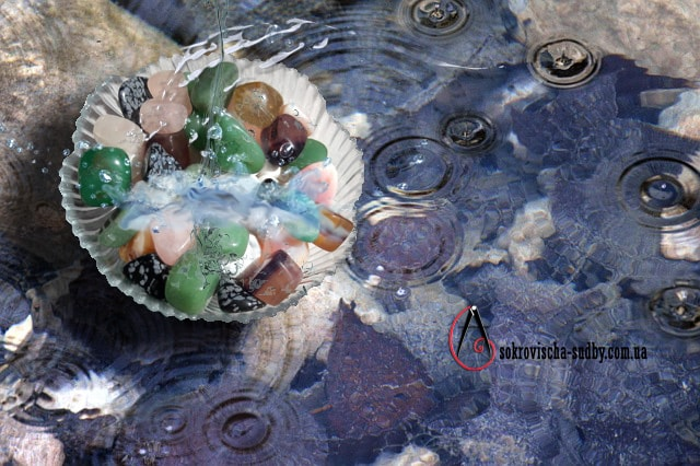 очистить камни от чужой энергии 3