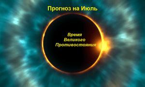 астропрогноз на июль 2018 и кристальные советы