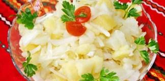 Салат картофельный по-грузински
