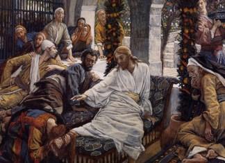 Джеймс Тиссо Иисус в Вифании