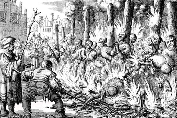Казнь стригольников-еретиков