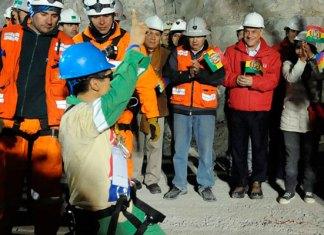 Иисус Христос и чилийские шахтёры
