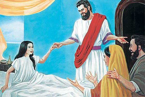 Исцеление дочери Иаира