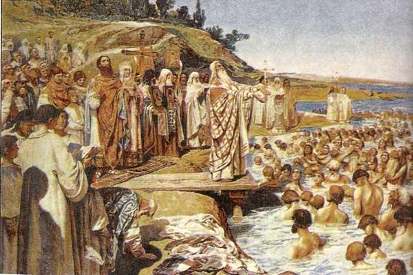 Как и когда пришло христианство на Русь Сокрытое Сокровище Крещение Руси