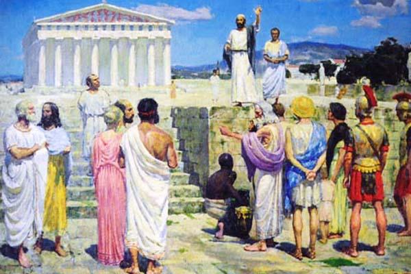 Станислав Бабюк - Апостол Павел в Афинах