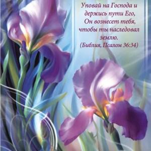 Христианская открытка Поздравляем