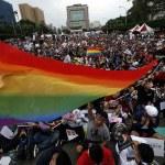 Протесты против легализации гей-браков на Тайване