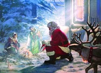 Санта-Клаус или Иисус Христос?