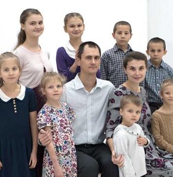 Один день из жизни большой семьи