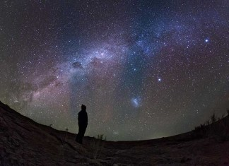 В небо смотрю
