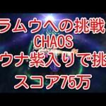 - 攻略動画 - 【DFFOO】ラムウへの挑戦CHAOS ユウナ紫入りで挑戦 スコア75万