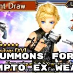 - 攻略動画 - Summons for Prompto EX Weapon – DFFOO – Dissidia Final Fantasy: Opera Omnia