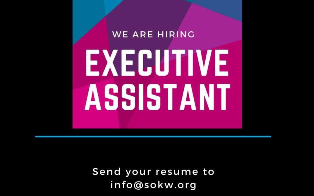 Now Hiring: Executive Assistant