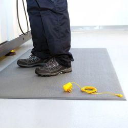 tapis antistatique esd surface granuleuse