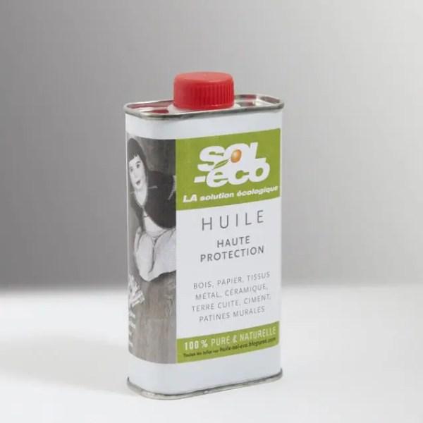 bidon d'huile haute protection pour le bois