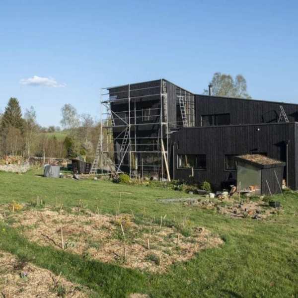Le chantier de maison d'anthony dans les Ardennes belges