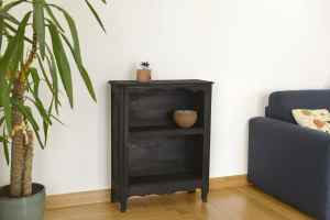 meuble rustique relooké par le feu