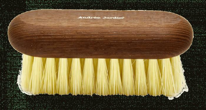 petite brosse en frêne thermohuilé et fibre tampico