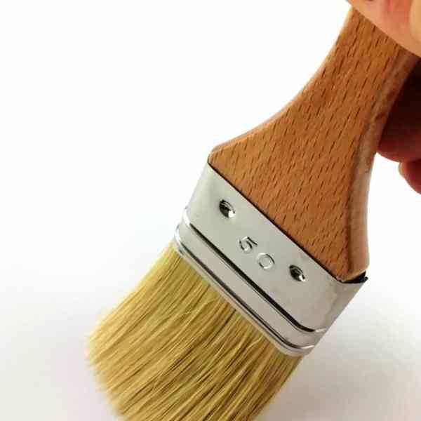 essai pinceauplat qualité supérieure vernis 50mm