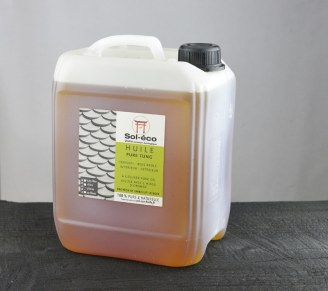 bidon d'huile pure tung de 5 Litres