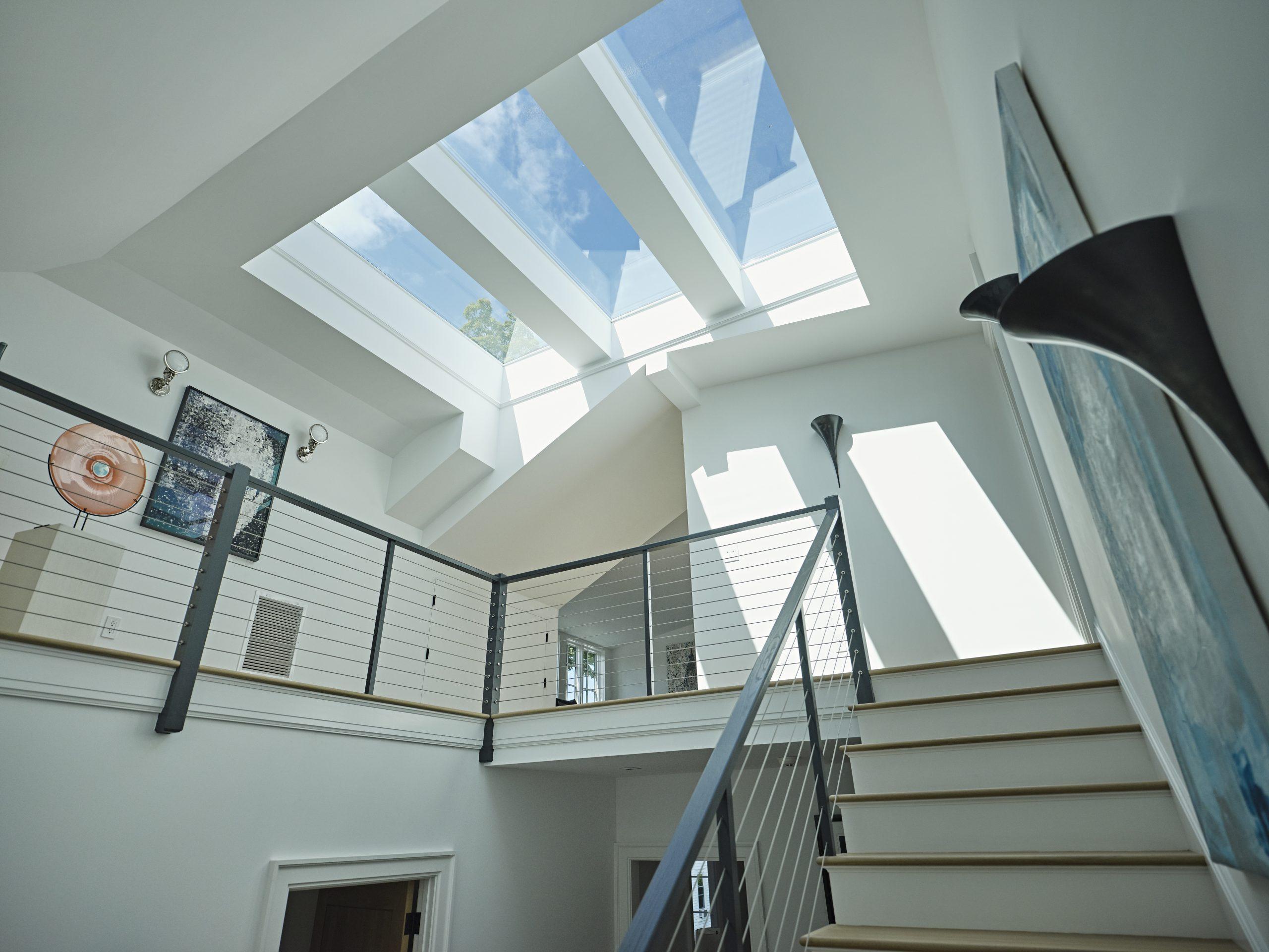 custom skylights present high design