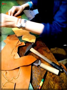 手作り靴教室・靴工房 作業風景