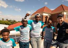 SOLA and project 90 by 2030 worked together on solar PV mentorship programme with Khayelitsha youth