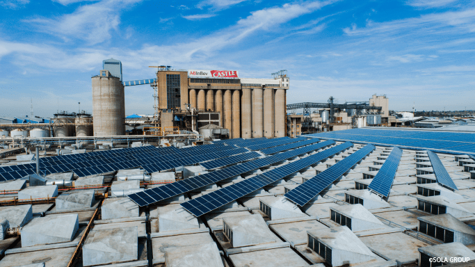 ABin Bev Breweries will now be powered with solar energy