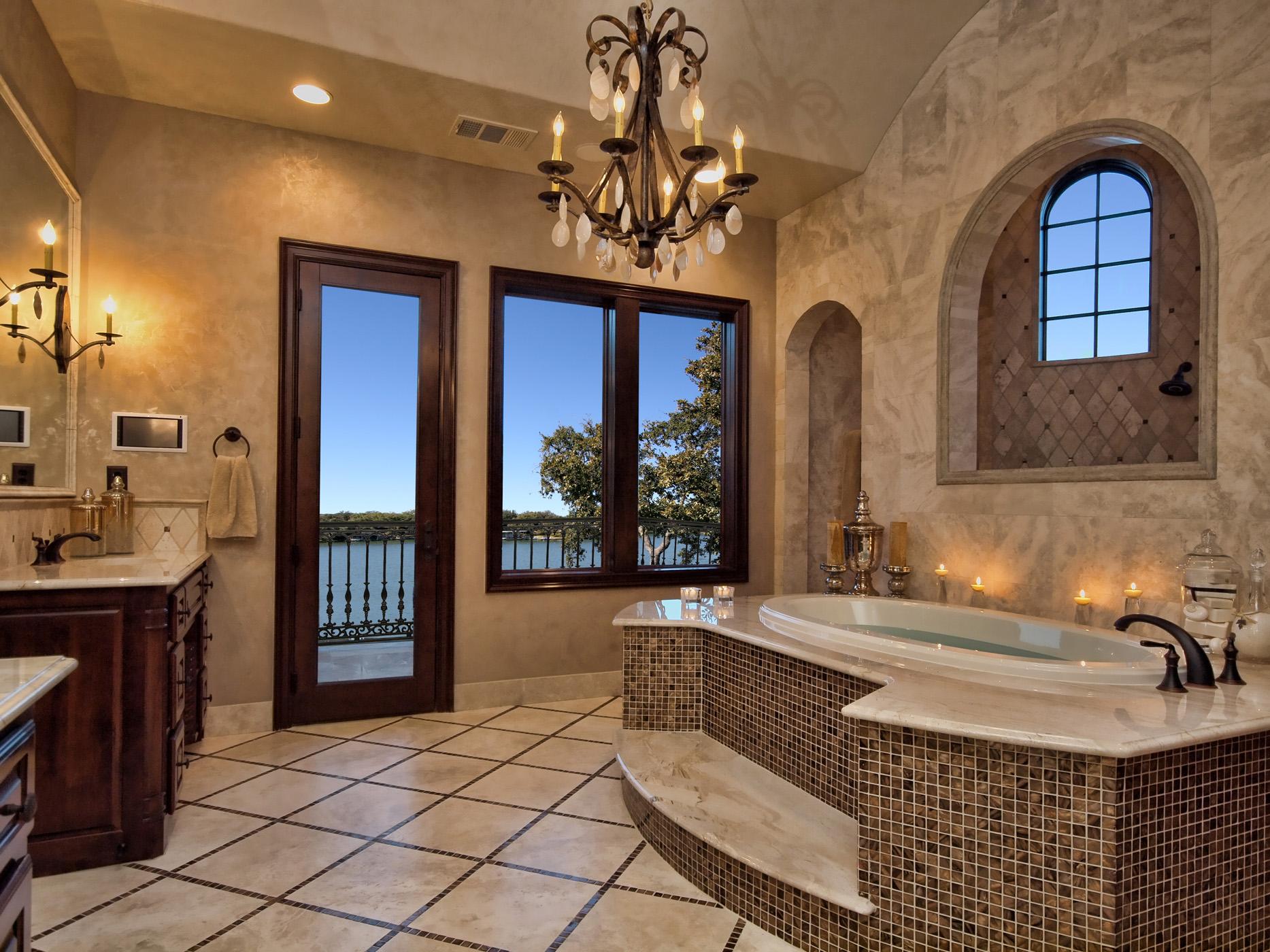 Bathroom Lighting And Mirrors Designs