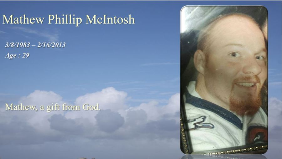 Mathew Phillip McIntosh