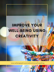 Improve your well-being using creativity