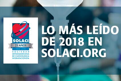 Os 10 artigos mais consultados em SOLACI durante 2018