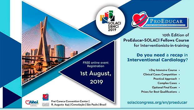 ProEducar 2019   We celebrate 10 Years of continuous interventional education!
