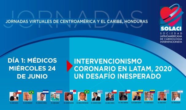 Jornadas Virtuales Honduras: Intervencionismo Coronario en LATAM, 2020