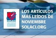 Lo más leido de Noviembre en SOLACI