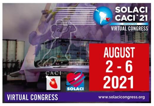 Regístrese al Congreso SOLACI-CACI 2021