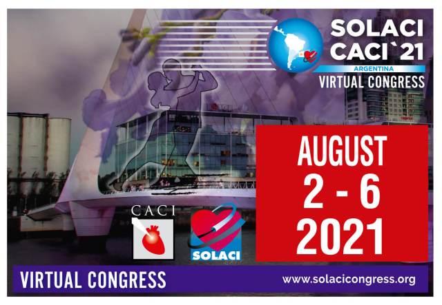 Mais de +3500 inscritos! Inscreva-se agora no SOLACI-CACI '21