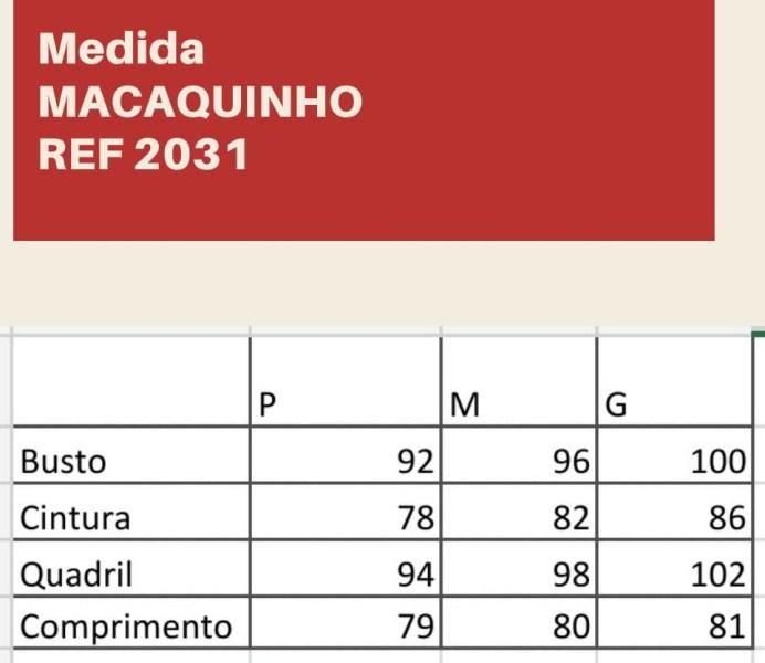MACAQUINHO MANGA BABADO JEANS CLARO G2031