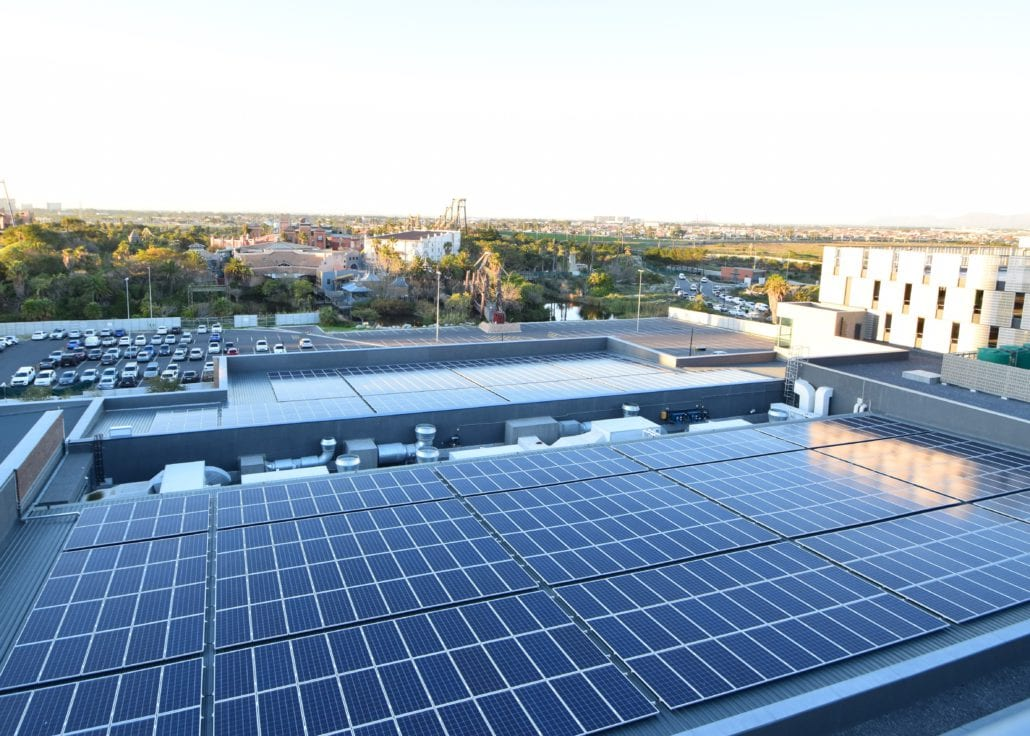 Century City Conference Centre goes green through solar energy installed by SOLA Future Energy