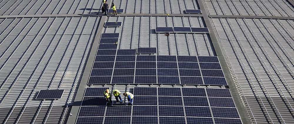 solar PV for commercial and industrial property