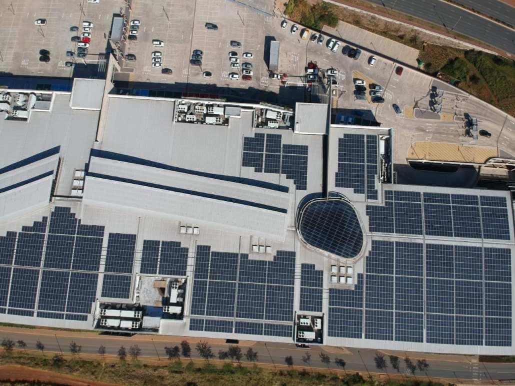Ballito Junction Mall Solar PV system