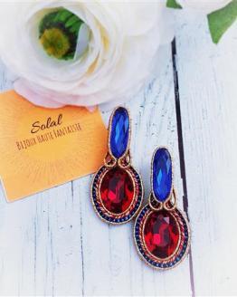 Création Solalbijoux boucles d'oreilles Voyage sur le Nil