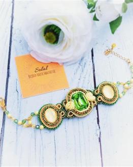 Création Solalbijoux bracelet Mojito